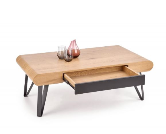 Square Coffee Table With Rounded Edges