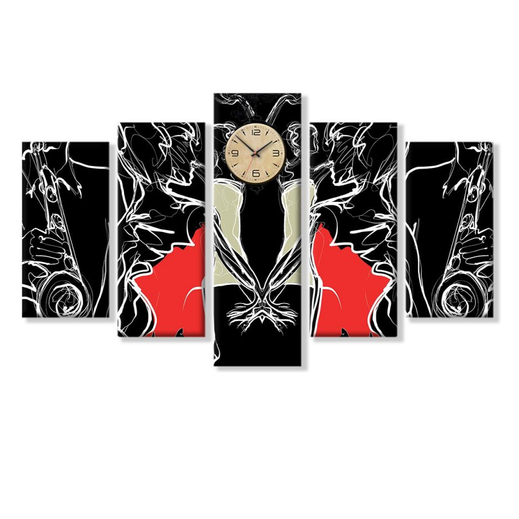 Red and Black Wall Decorations