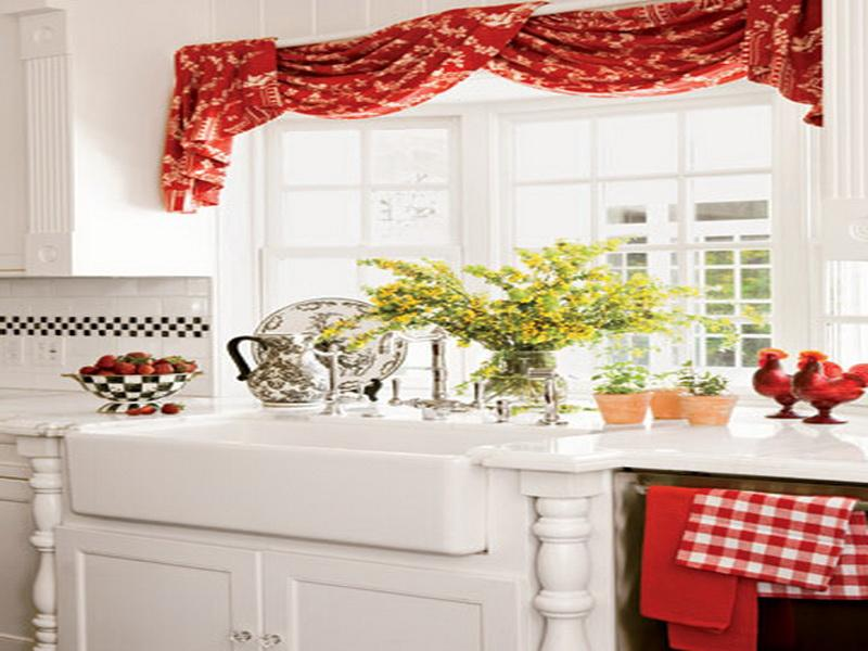 curtain ideas country kitchen curtains styles of kitchen curtains – Kitchen Valances Ideas
