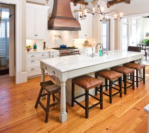 17 Best Ideas About Kitchen Island Table On Pinterest: Kitchen Island Table