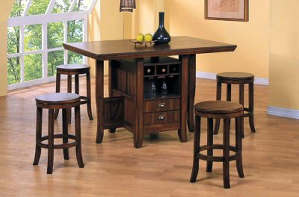 Island kitchen table with storage roselawnlutheran for Kitchen island table
