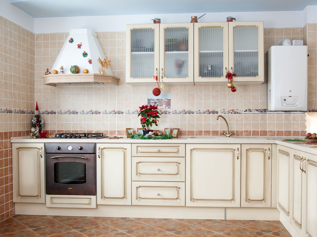 kitchen walls modern beige kitchen design with red walls digsdigs kitchen wall designs - Kitchen Wall Tile Design Ideas