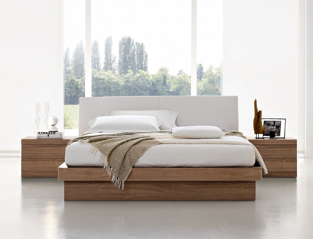 Modern bedroom furniture for Chambre a coucher lit