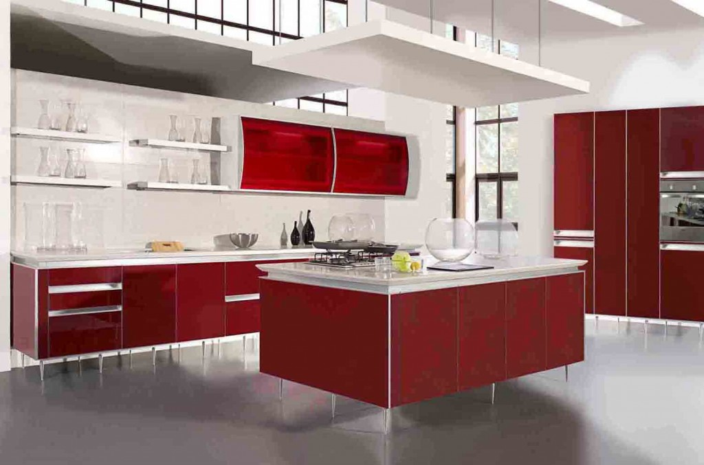 Modern Kitchen Cabinets 8