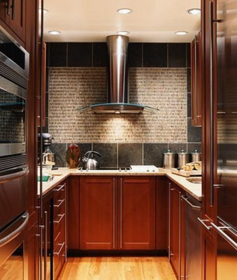 Small kitchen designs 2015 for Small kitchen design photos