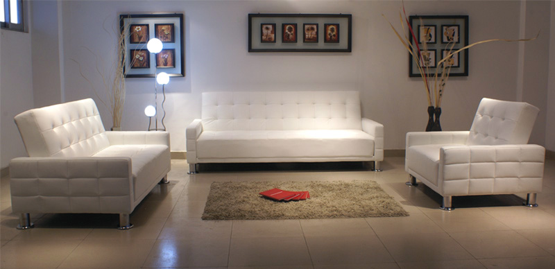 white leather sofa 15 - White Leather Sofa