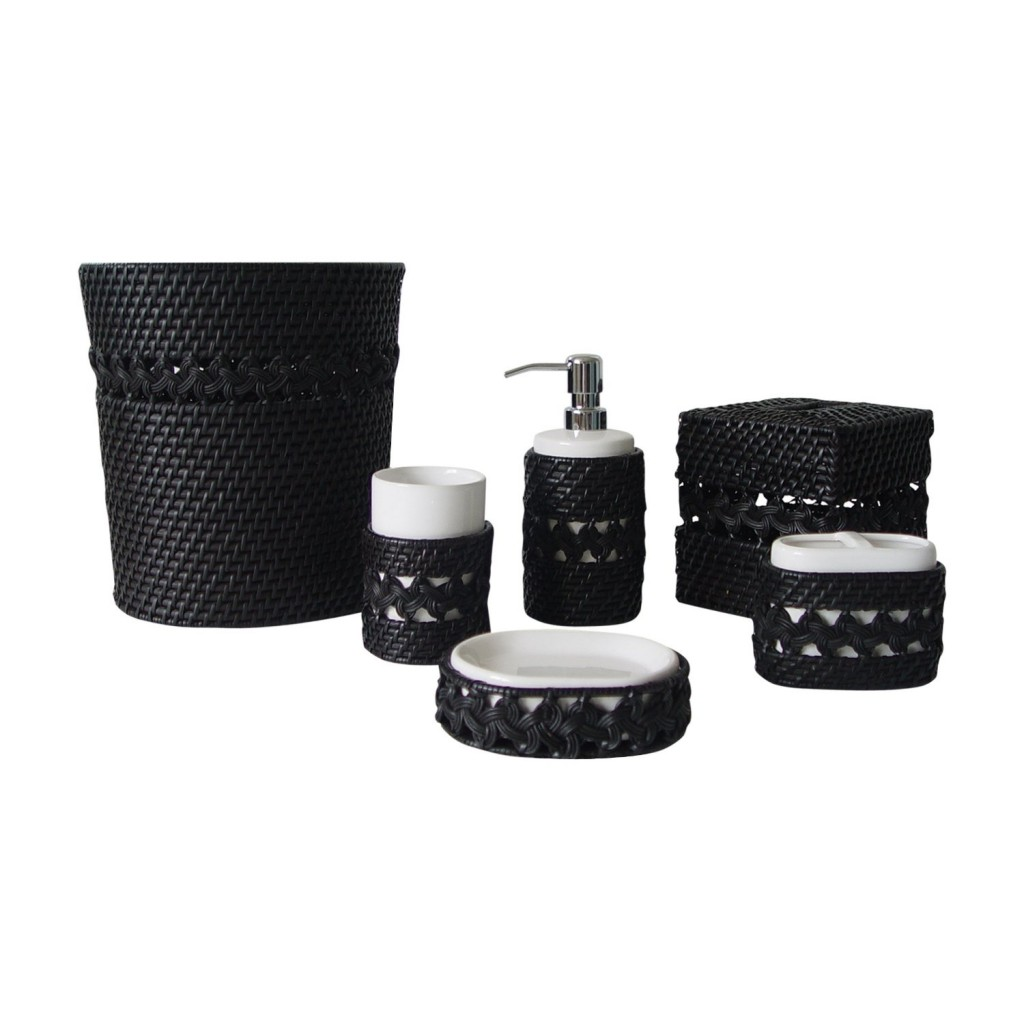 Black bathroom accessories for Bathroom accessories sale
