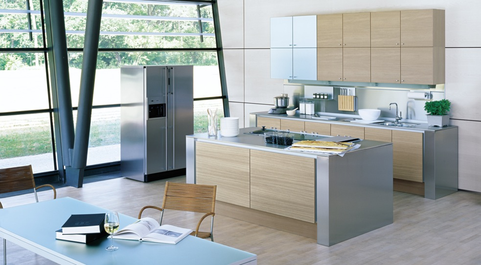these kitchen designs which make a strong impression with is design