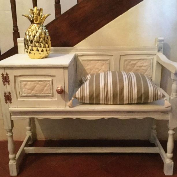 Vintage White and Gold Furniture